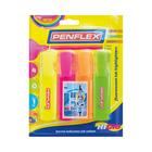 Penflex Higlo Assorted 4ea