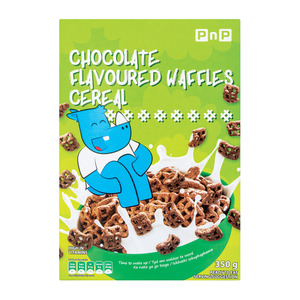 PnP Waffles Chocolate Cereal 350g