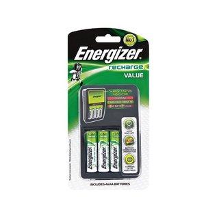 Energizer Value Charger + 4 X 1400Mah Batt