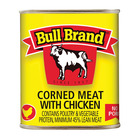 Bull Brand Corned Meat With Chicken 300g