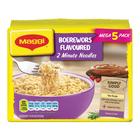 Maggi 2Min Noodle Boerewors Multi Pack 365g