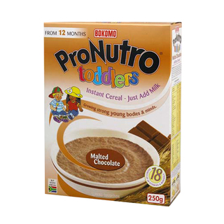 Bokomo Malted Chocolate Toddlers Cereal 250g