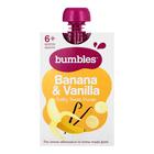 BUMBLES BANANA & VANILLA PUREE 120GR
