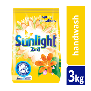 Sunlight Handwashing Powder 2in1 Spring Sensations 3kg