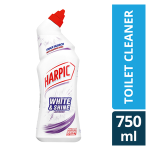 Harpic White&Shine Thick Bleach Toilet Cleaner Lavender 750ml