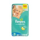 Pampers Baby-Dry Size 5 Jumbo Pack, 52 Nappies x 2