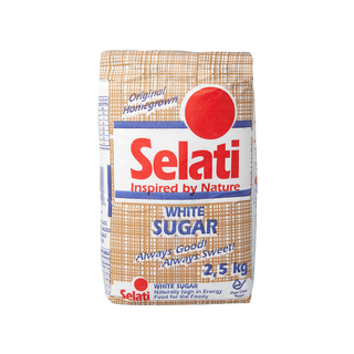 Selati White Sugar 2.5kg
