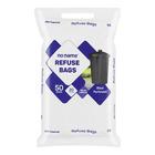 PnP No Name Black Refuse Bag Roll 50s x 10