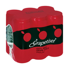 Grapetiser 100% Sparkling Red Grape Juice 330ml x 6