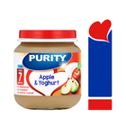 PURITY Jar Apple & Yoghurt 125ml from 7 Months