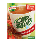 Knorr Cup-A-Soup Lite Beef & Vegetable 4s