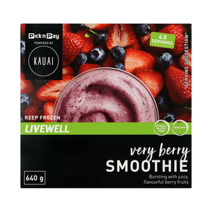 Kauai Smoothie Very Berry 640g