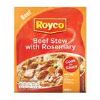 ROYCO CIS DRY BEEF STEW W ROSEMARY 48GR