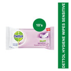 Dettol Hygiene Sensitive Personal Care Wipes 10s