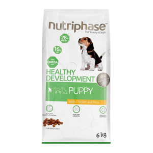 Nutriphase Chicken & Rice Puppy Dog Food 6kg