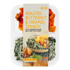 PnP Roasted Butternut & Cream Spinach 350g