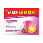 Med-lemon Cherry Menthol Hot Medication 8