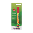 Artline Red Permanent Marker EK70
