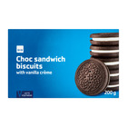 PnP Choc Sandwich Vanilla Cream 200g