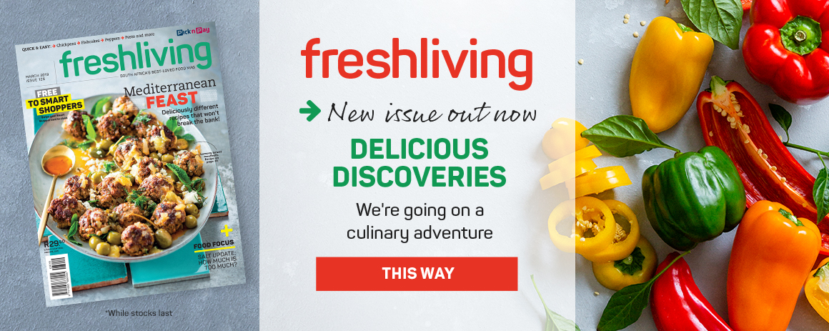 Freshliving new issue out now!