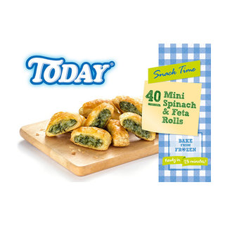 Today Spinach and Feta Rolls 40s