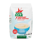 White Star Inst Maize Porridge Vanil 1 Kg