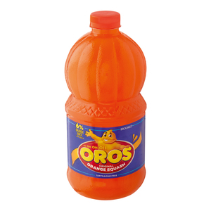 Brookes Oros Original Orange Squash 2l