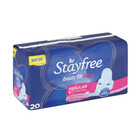 STAYFREE PADS REG UNSCENTED 20EA