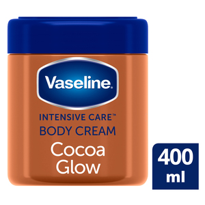 Vaseline Cocoa Glow Moisturising Body Cream 400ml