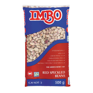 Imbo Red Speckled Sugar Beans 500g