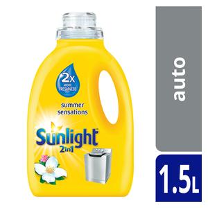 Sunlight Liquid Detergent 2In1 1.5l