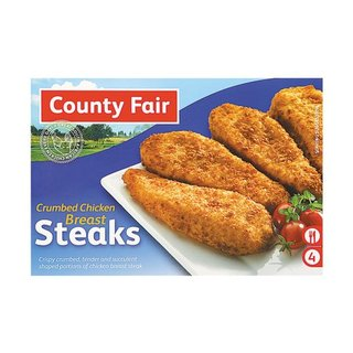 County Fair Crumbed Breasts Fillet 400g