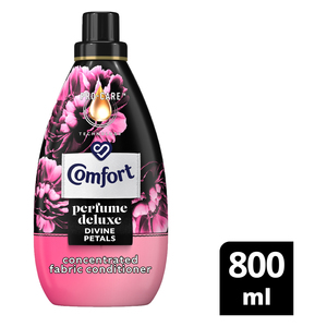 Comfort Perfume Deluxe Divine Petals Concentrated Fabric Conditioner 800ml
