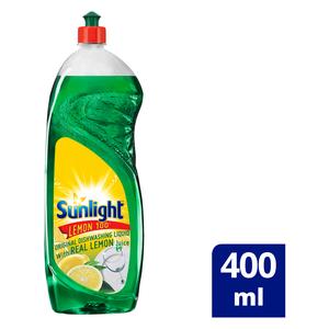 Sunlight Lemon 100 Dishwashing Liquid 400ml