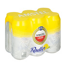 Amstel Beer Radler Cans 440ml x 6