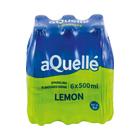 Aquelle Lemon Sparkling Flavoured Drink 500ml x 6