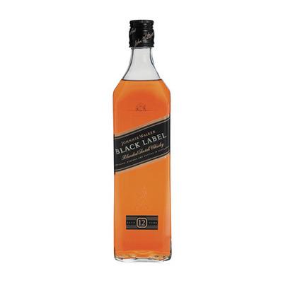 Black Label Price >> Johnnie Walker Black Label 12yo Whisky 750ml Each Unit