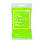 PnP Rubber Gloves Large