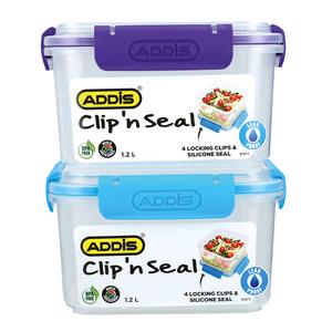 Addis Clip & Seal 1.2l Square Food Saver