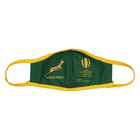 Adults Mask S-M Rugby Themed Green