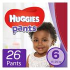 Huggies Unisex Pants Size 6 26s