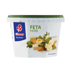 Clover Traditional Feta Cheese  With Herbs 200g