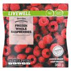 PnP Frozen Raspberries 350g