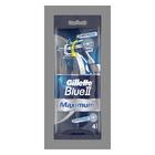 Gillette Blue II Max Sensitive Razors 4s