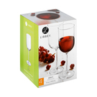 Libbey Envy Red Wine Glass 4 Pack