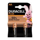 Duracell Alkaline Batteries Plus Power AA 2s