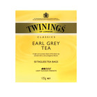 Twinings Earl Grey Tagless Teabags 50ea