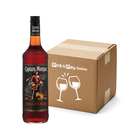 Captain Morgan Black Label Rum 750ml x 12