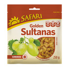 Safari Golden Sultanas Choice 250g
