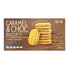 PnP Choc Duo Caramel Biscuits 200gr